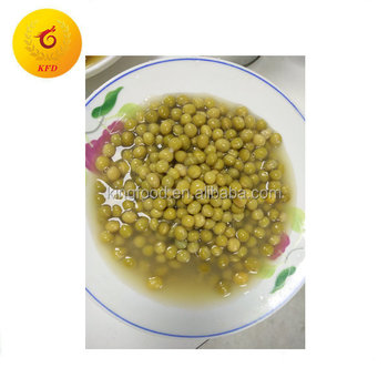 Canned vegetables canned green mung beans brands with easy open lid