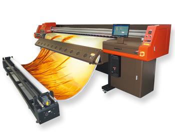 Banner Flex Printer Machine Ultra Star 3304 Solvent Printer