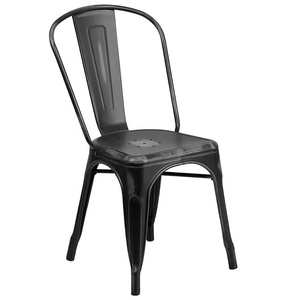 Wholesale Cheap Metal Frame Folding modern Dining chair