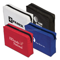 Promotion Gift Small Non Woven Zipper Pen Pouch Cosmetic bag