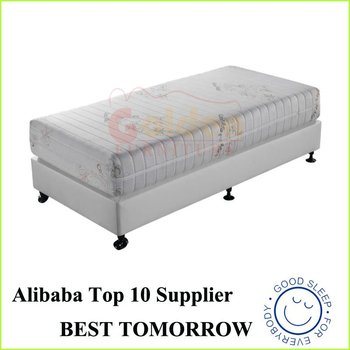 Compression Recovery Memory Foam Mattress Rebonded Foam