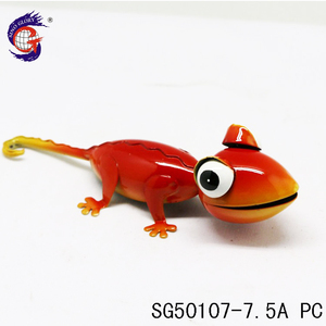 Manufacturer Wholesale Home Decor Cheap Lizard Metal Animal Figurines
