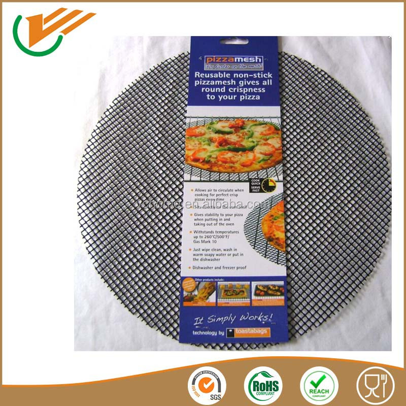 Heat Resistance non-stick teflon coated mesh cooking sheet