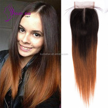 2017 new products hair extension human closure silky straight remy indian hair from linyi