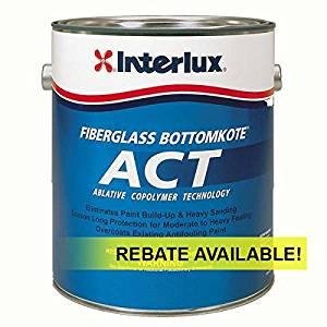 Interlux ACT Ablative Antifouling Bottom Paint Quart 7790U/QT