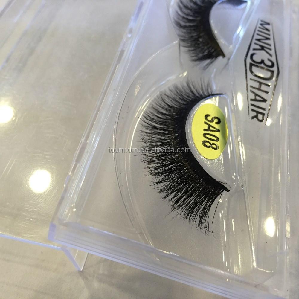 Custom Packing 3d Multi Real Mink Strip/false Eyelashes ...
