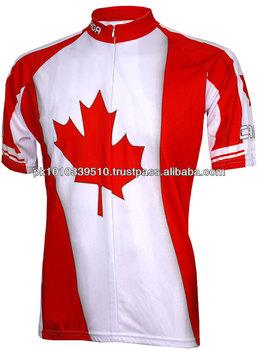 Sublimation Canada Cycling Jersey Custom Cycling Jerseys - Buy ... fb9851d0a