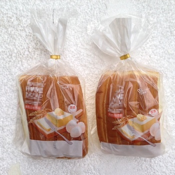 FDA plastic PE wicket bag for bakery