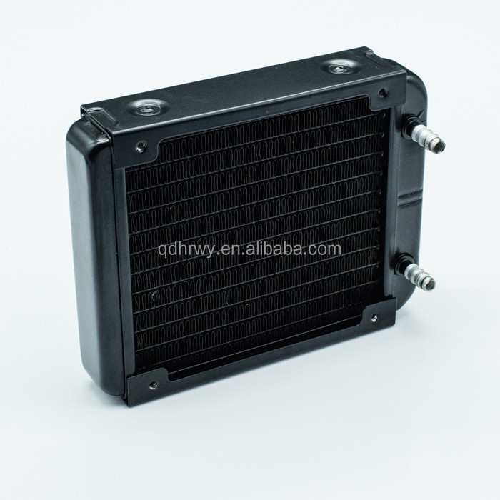 120mm aluminum computer / pc cpu water cooling radiator