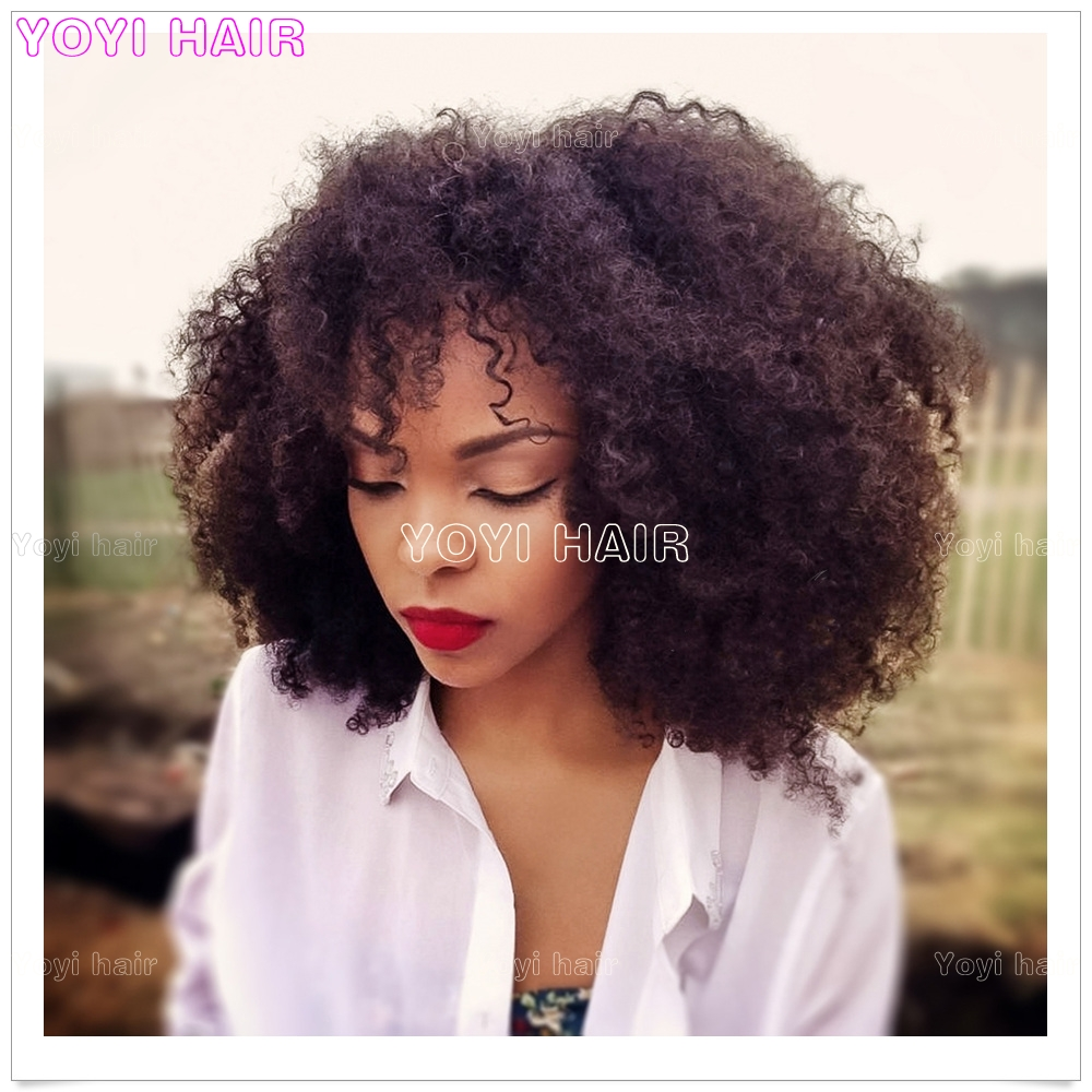 Popular Puffy Afro Kinky Curly Human Hair Weavebundlesweft Buy