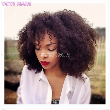 Popular Puffy Afro Kinky Curly Human Hair Weave Bundles Weft Buy Afro Kinky Curly Human Hair Weave Bundles Weft Brazilian Afro Kinky Weft Brazilian