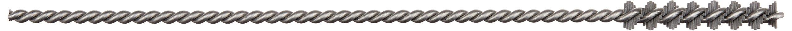 """Osborn 56428SP Abrasive Tube Brush, Silicon Carbide Fill Material, 0.190"""" Diameter, 1"""" Brush Length, 5"""" Overall Length, 0.093"""" Stem Diameter, 3/16"""" Hole Diameter, 500 Grit Size"""