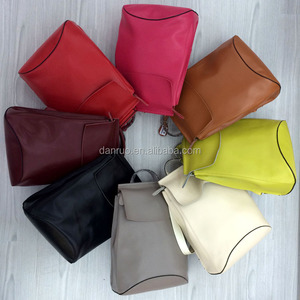 Colorful Girls Leather Packbag with high quality