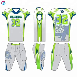 OEM/ODM Bulk Custom Youth American Football Uniform With Your Logo
