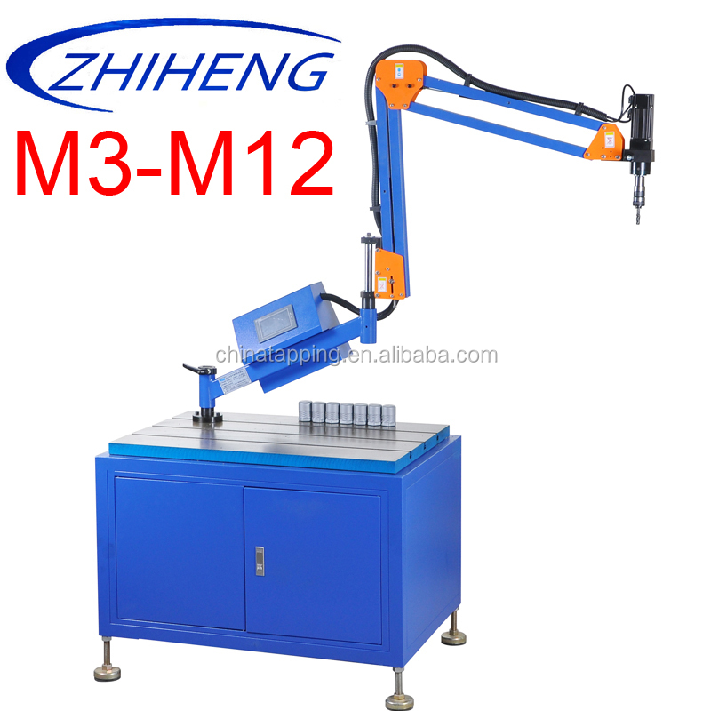 nut tapping machine for die steel cnc pipe threading machine drilling tapping machine