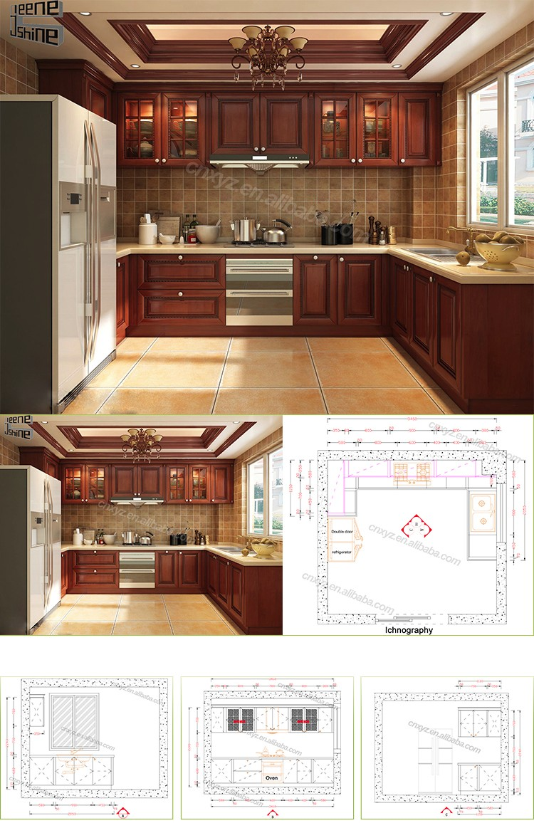 2017 new design home furniture in bangladesh price kitchen