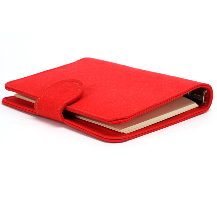 A5 Paper Diary School Stationery felt notebook cover for Kids