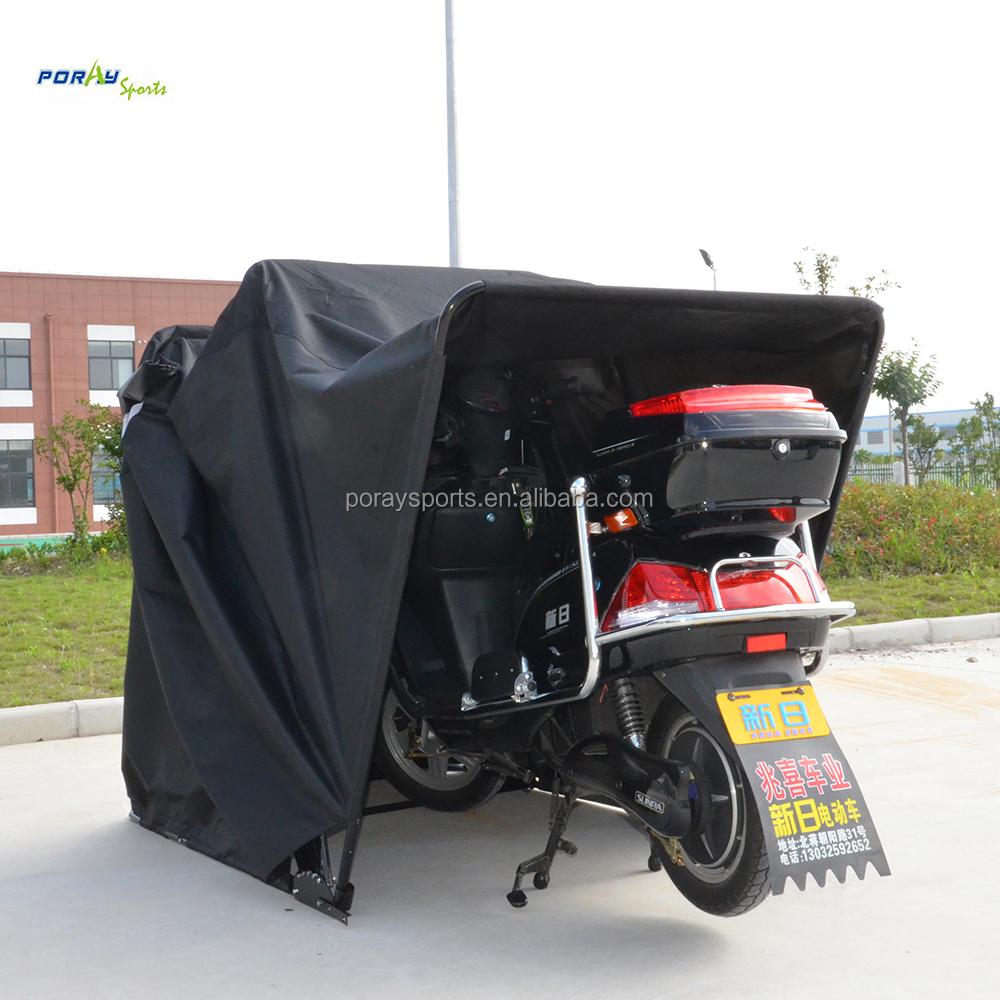 Motorcycle Garage Shelter Shed Strong Frame Motorbike Tent Scooter
