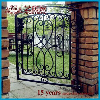 2016 Latest Main Gate Designs/house Gate Designs/iron Pipe Gate ...