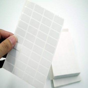 Hot sale sticker paper 40pcs self-adhesive label blank sticker