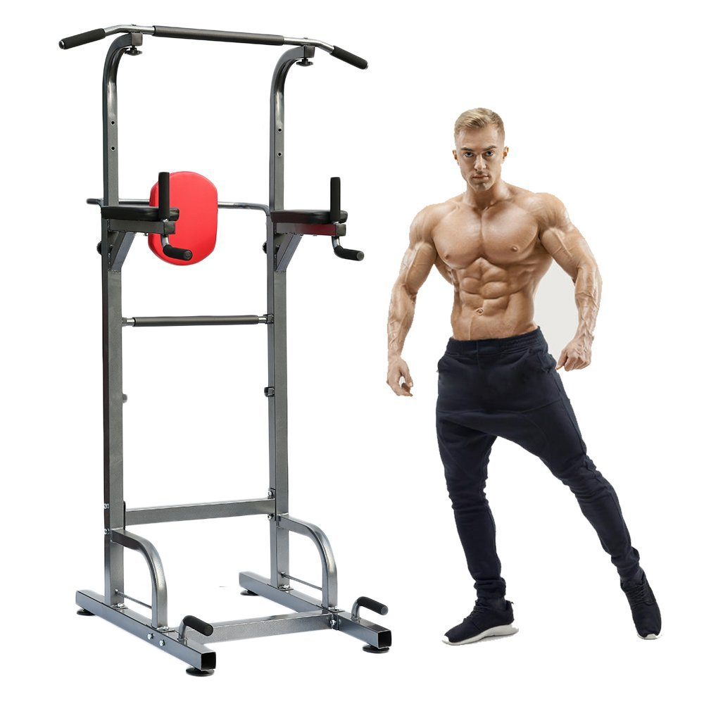 Expander & Widerstandsbänder Fitness & Jogging New Multi Function Pull Up Dip Station for Indoor Home Gym Strength Training