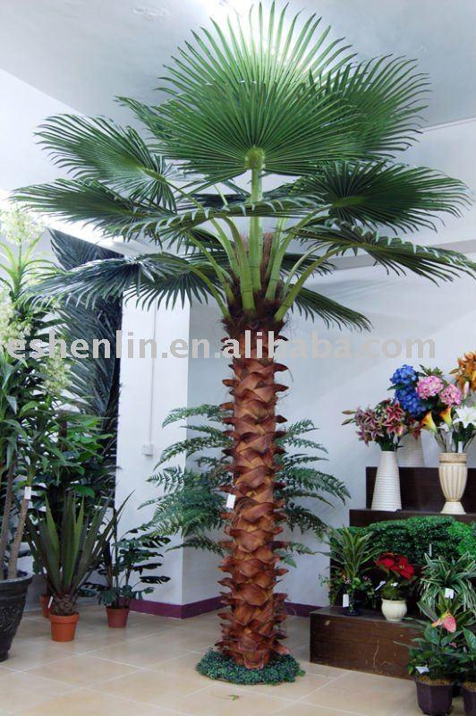 Man made faux artificielle palmier fleurs for Vente palmier artificiel