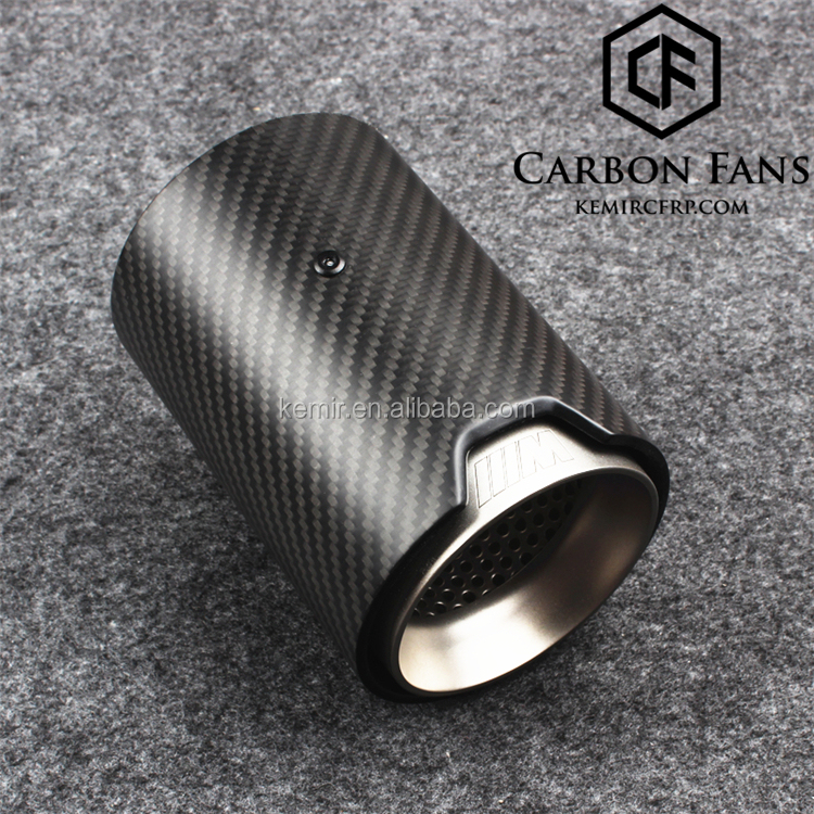 Real Carbon Fiber M Performance Exhaust Tailpipe Tip For Bmwm Power Sport M2 F87 M3 F80 M4 F82