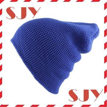 778b93156 Custom Embroidery Winter Sports Blank Wholesale Slouch Beanie Skull Cap Hat  - Buy Slouch Beanie Hat,Knit Beanie Skull Cap Hat,Custom Embroidery Slouch  ...