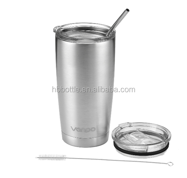 rtic 20 oz stainless steel double wall vacuum tumbler for sale