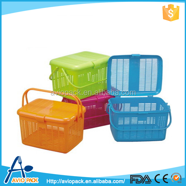 High quality aviopack non toxic plastic PP picnic basket