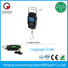 50kg portable digital luggage scale weiheng manual scale