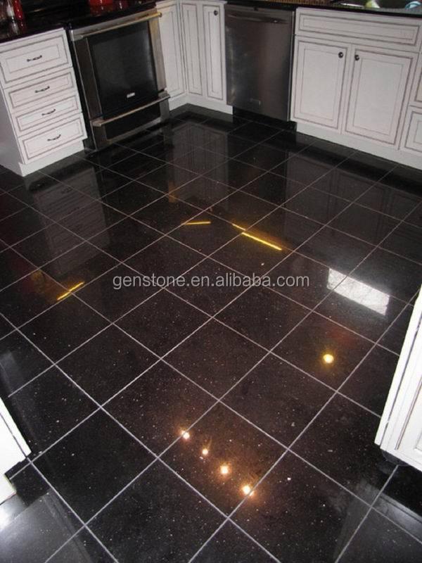 Flooring Polished Mongolian Living Room Cheap Black Galaxy
