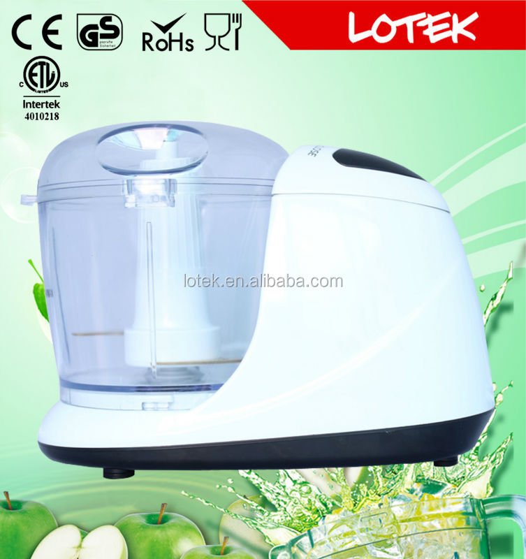 Fully stocked kitchen design mini chopper