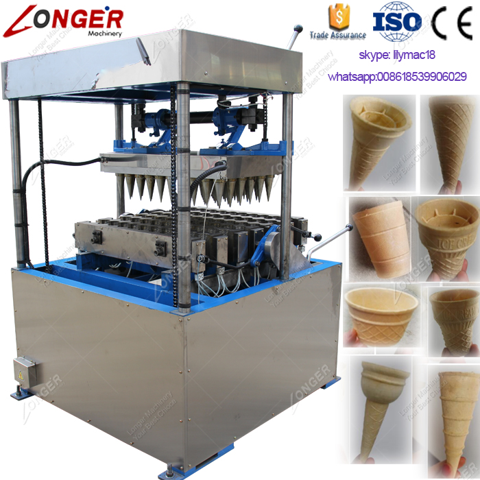 Commercial Sugar Ice Cream Cone Biscuits Making Machine Price