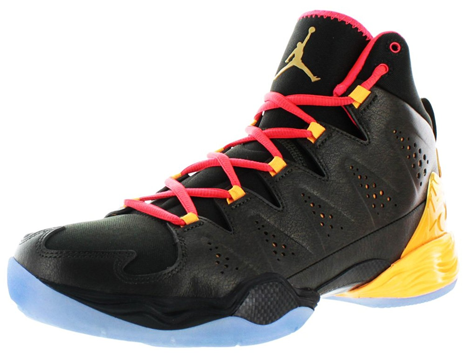 low priced 8228d 1a920 Get Quotations · Jordan Nike Melo 10 Mens Basketball Shoes Carmelo Anthony  Blk Sz 11