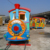 Hot sale outdoor tourist electric train ride kids train track