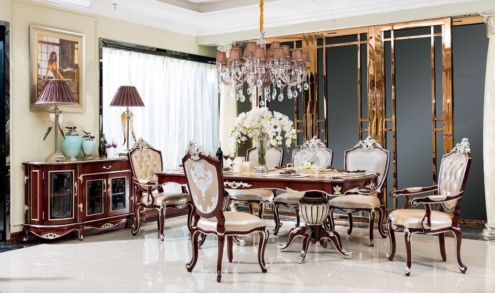 Bisini muebles victorianos antiguos de madera maciza oval for Muebles de comedor antiguos