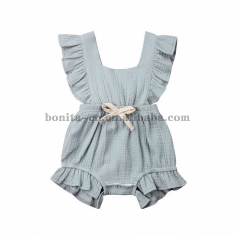 OEM OR ODM Fashion Organic Cotton Baby Clothes Cute Newborn Baby Romper jumpsuit