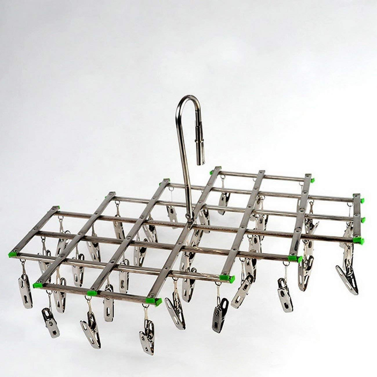 stainless steel racks folding hanger stainless steel hanger socks rack 35 rack stainless steel multifunctional folder , stainless steel hanger, stainless steel clothes drying rack, multifunctional s