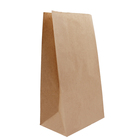 Fsc certified recyclable sos brown kraft paper bag with your own logo