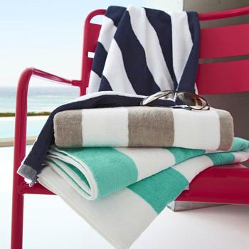 Cotton Beach Towel Custom Stripe Beach Towels Swimming Pool Beach Towel -  Buy Beach Towel,100% Cotton Beach Towel,Pool Towel Product on Alibaba.com