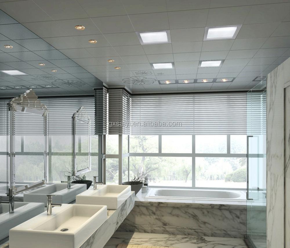 Badezimmer dekoration wand aluminium deckenplatten platte for Badezimmer 6 quadratmeter