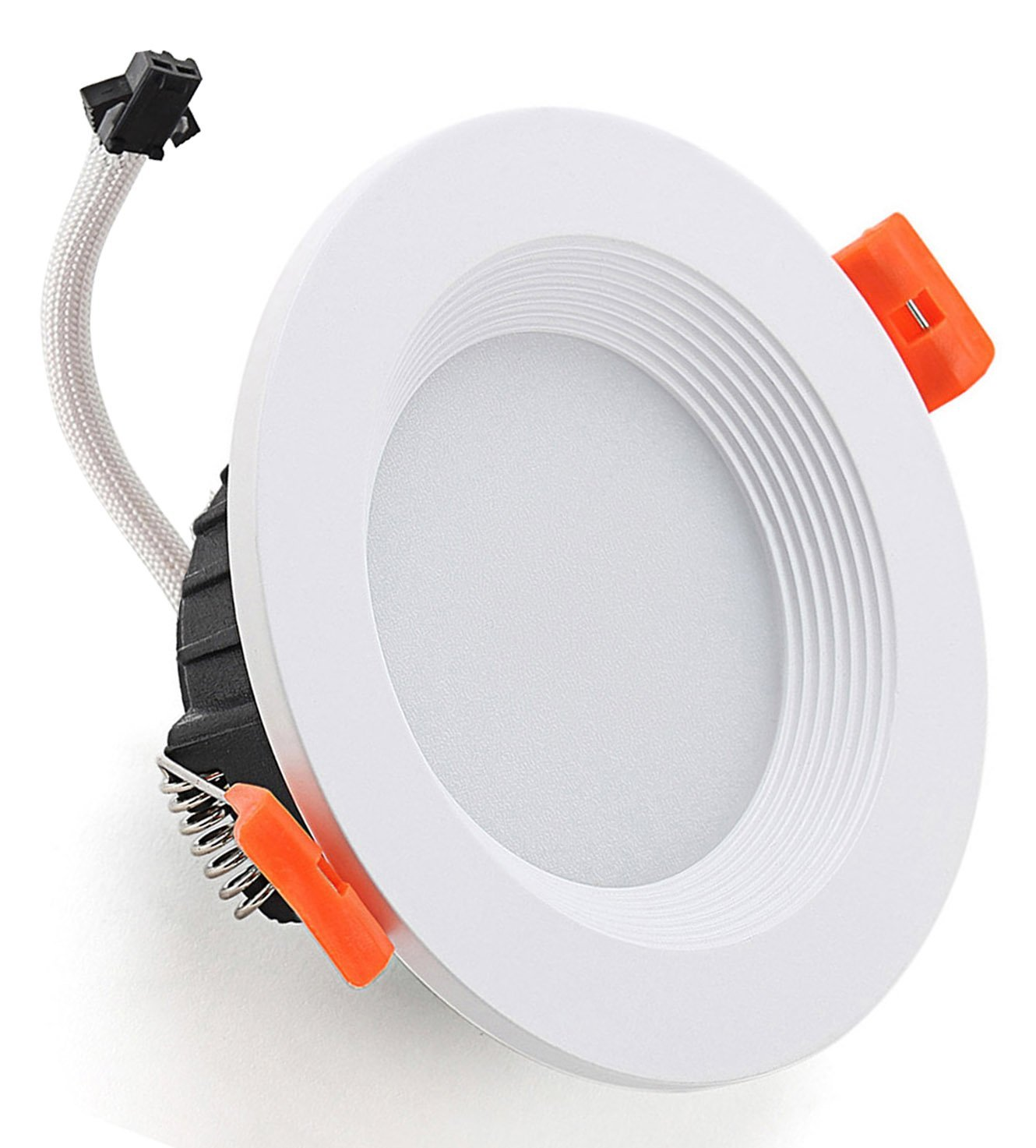 Diranda Round LED Recessed Ceiling Light Retrofit Cool White 6000-6500K 7W 4.41'' with Led Driver Lighting Lamp Fixture AC85-265V