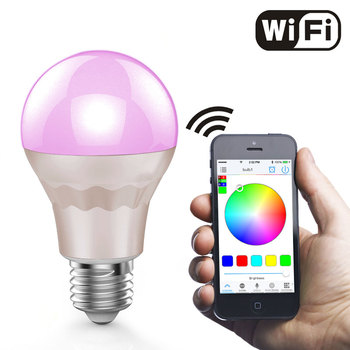 Wifi Led Lamp With Timer+group+music Control+disco+diy Mode Smart Led Light  Dimmable Led E27 Wifi Led Bulb - Buy Wifi Led Lamp,E27 Wifi Led Bulb,Led  Wifi Lamp Product on Alibaba.com