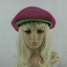 pink peaked cap cosplay knit composite sponge dome bucket hat
