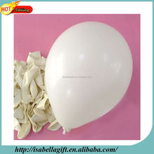walking street hot sale 10inch white latex balloon for school celebration activities