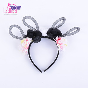 Halloween Decoration Flower Headband For Kids Adult Girl Hair Band