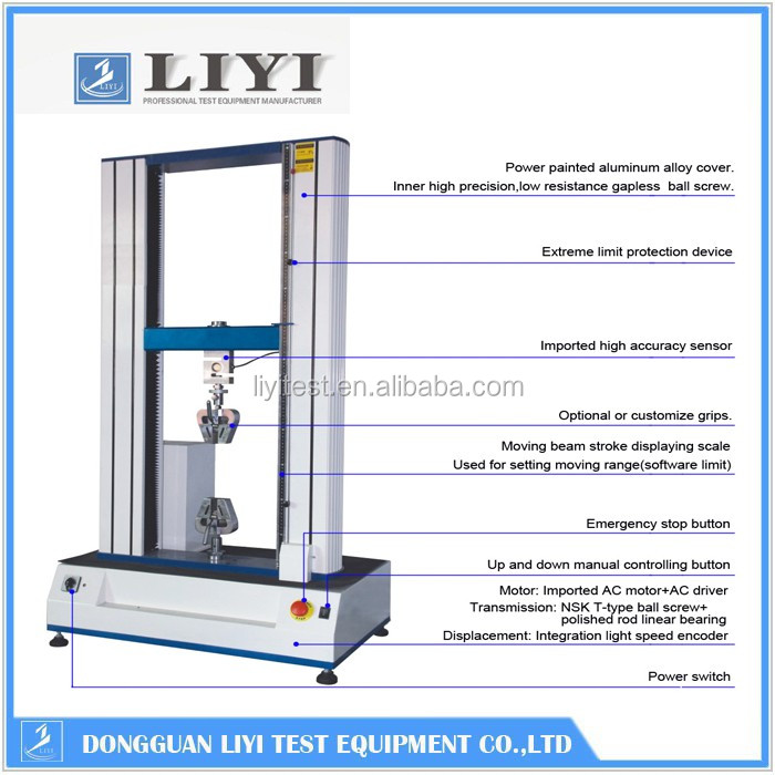 Stress Test Double Product: 400mm Test Width Tensile Stress Testing Machine For