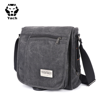 Por Stylish Uni China Students School Custom Satchel One Side Men Shoulder Bags Crossbody Messenger Bag For College