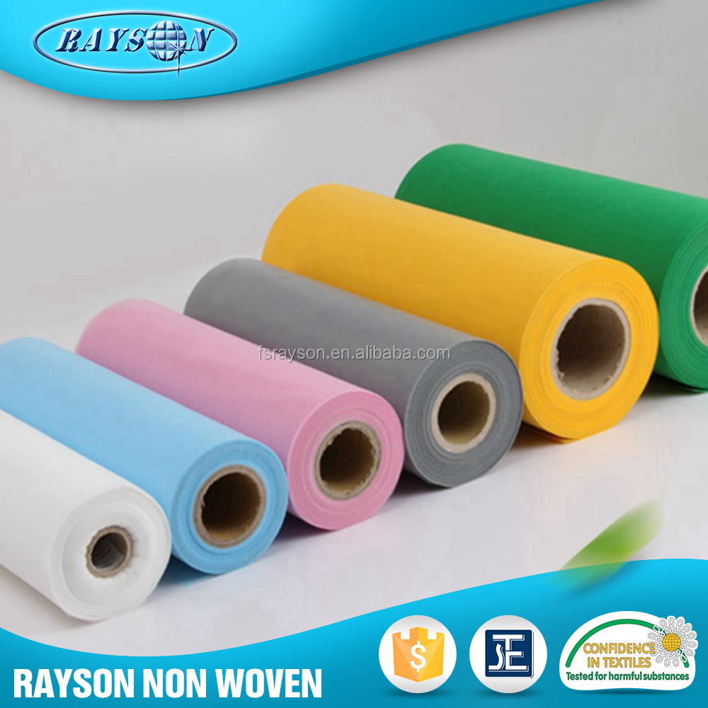 Affordable 100% Polypropylene Non Woven Spunbond Processed Fabric Textiles